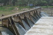 Spillway in the part of Dam