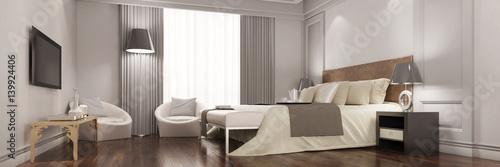 Panorama von Zimmer im Hotel