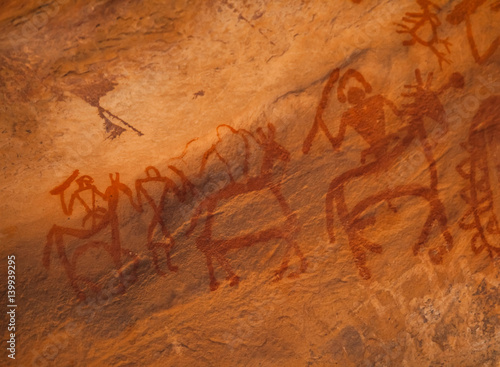 Poster Bhimbetka rock shelters