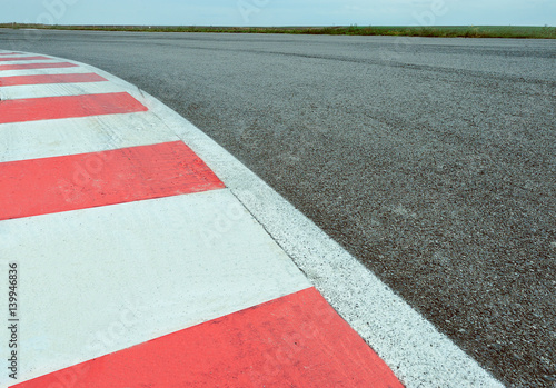 Aluminium F1 Race track detail