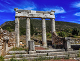 ruins in Ancient Messina, Peloponnes, Greece