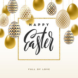 Easter vector greeting card - 139982653
