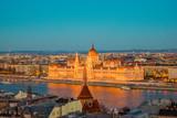 Budapest in Sunset