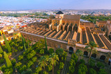 Fototapety Aerial view of Great Mosque Mezquita - Catedral de Cordoba, Andalusia, Spain