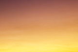 Gradient color of sunset sky