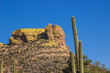 Rock Outcropping In Arizona Desert