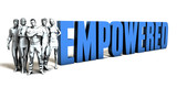 Empowered Business Concept