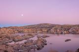 Moonrise Over Watson Lake
