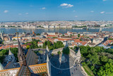 View of Budapest city from above