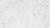 Fototapety Old White brick wall Background