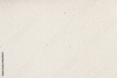 Leinwanddruck Bild Texture of old organic light cream paper, background for design with copy space text or image. Recyclable material, has small inclusions of cellulose