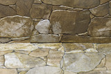 Abstract background with the image of stone wall