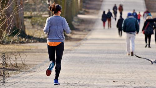 Biegam bo lubię.
