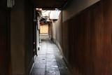 京都の趣のある裏路地