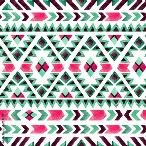 Geometrical ethnic seamless pattern - 140356819