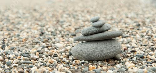 Poster Stenen in het Zand zen