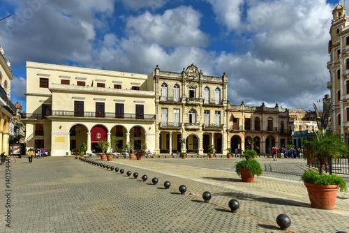 Poster Plaza Vieja - Havana,