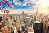 New York City Manhattan at sunset - 140419425