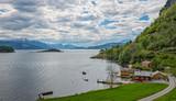 Hardanger fjord, Norway.