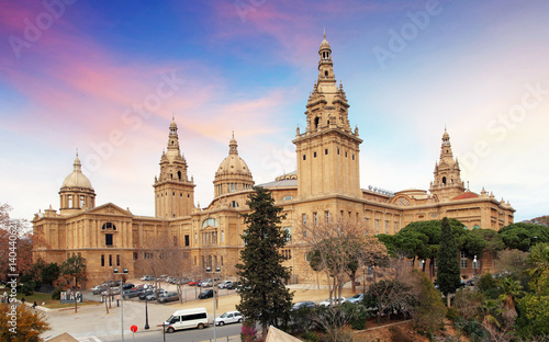 Barcelona National art museum of Catalonia (MNAC)