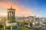 View of the city of Edinburgh