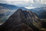 mountain ridge in Norway