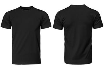 Black t-shirt, clothes