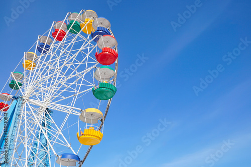 Foto op Canvas Amusementspark Ferris wheel