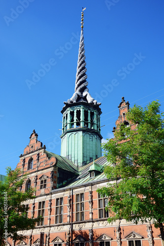 Poster Alte Börse in Kopenhagen, Dänemark