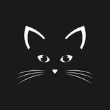 Cat face vector
