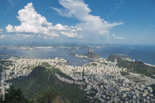 Poster Rio de Janeiro  Corcovado View , Brazil