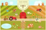 Farm House Poster - 140539837