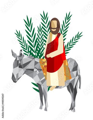 palm sunday the triumphal entry of jesus into jerusalem on a rh apimages com Palm Sunday Story Palm Sunday Quotes Inspirational
