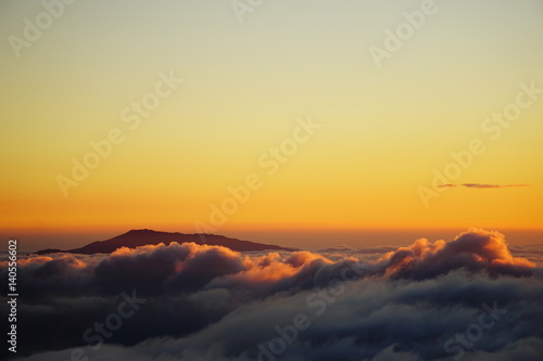 Hualalai Mountain Hawaii Clouds © BRITTINI