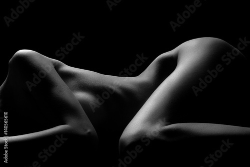 Poster Sexy body nude woman