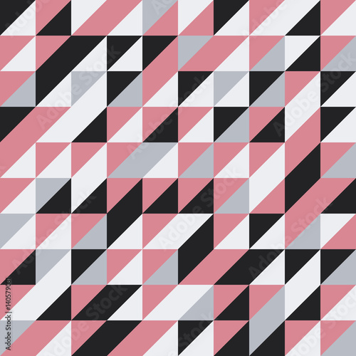 Fototapeta Seamless Pattern of geometric shapes