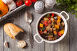 Постер, плакат: Ratatouille classic French stew of summer vegetables