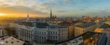 Fototapety Vienna skyline panorama at sunset