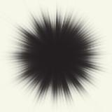 Fototapety Vector halftone starburst design. Retro sun illustration