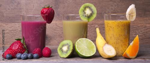 Foto Murales Gesunde Ernährung, Smoothies