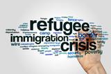 Refugee crisis word cloud - 140718006