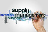 Supply management word cloud - 140718428