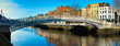 Dublin, panoramic image of Half penny bridge - 140731608