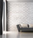 New scene 3d rendering interior design of modern luxury living room