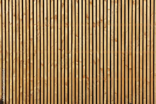 Poster palissade en bois