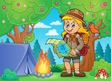 Scout girl theme image 5
