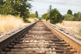 Tilt-Shift Train Tracks