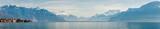 Panorama du lac Léman côté suisse