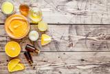Organic herbal cosmetics