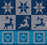 Knitted Decorative Background